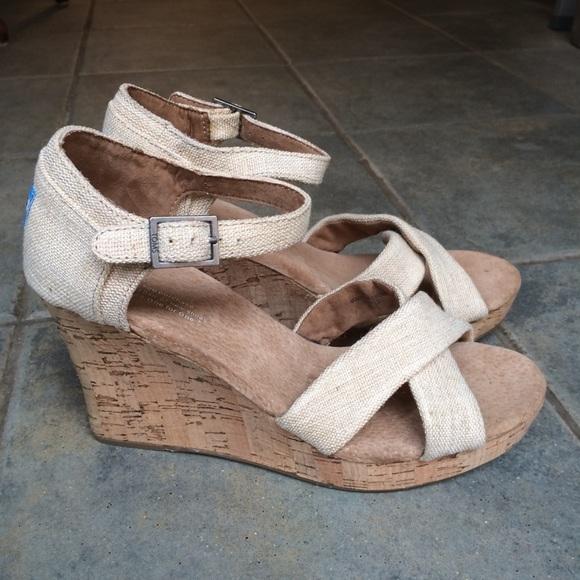 91e6af84a3f Toms Shoes - TOMS Sierra Wedge Sandal